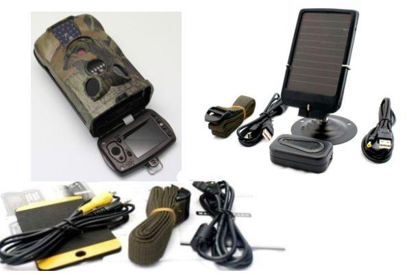 Pannello Solare Per Telecamera : Sistema videosorveglianza telecamera con dvr per esterno a